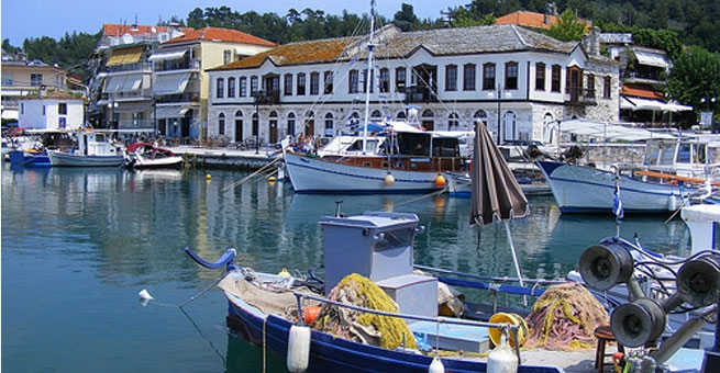 02 - Old Harbour of Limenas