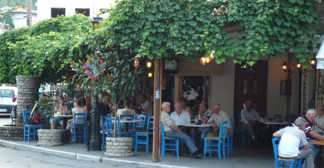 28 - Traditional Tavern in Thassos